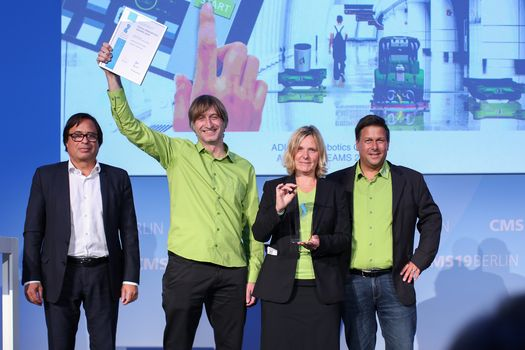 CMS Purus Innovation Award (PIA); ADLATUS Robotics GmbH; CMS Berlin